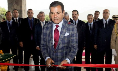 """S.A.R. le Prince Moulay Rachid inaugure le """"Michlifen Golf and Country Club"""""""