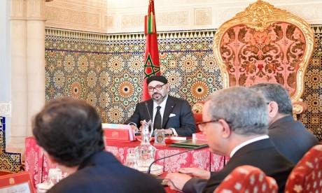 S.M. le Roi préside à Rabat un Conseil des ministres
