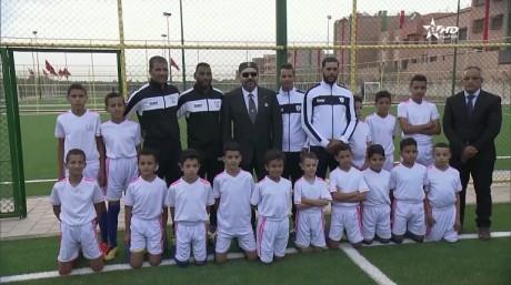 S.M. le Roi inaugure à Marrakech deux projets sportifs de proximité à forte valeur sociale