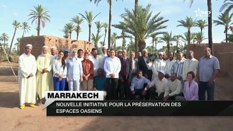 S.A.R. la Princesse Lalla Hasnaa visite deux projets représentatifs du programme de sauvegarde et de développement de la Palmeraie de Marrakech