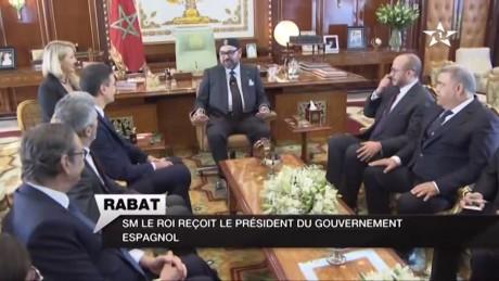 S.M. le Roi reçoit en audience M. Pedro Sanchez, Président du Gouvernement Espagnol