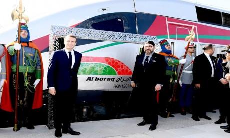S.M. le Roi et le Président français inaugurent le TGV Tanger-Casablanca