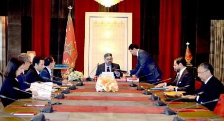 S.M. le Roi préside une séance de travail consacrée au secteur des énergies renouvelables