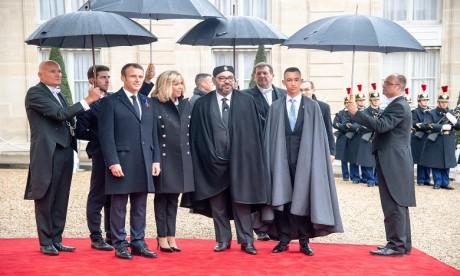 S.M. le Roi prend part à Paris à la cérémonie internationale de commémoration du centenaire de l'Armistice