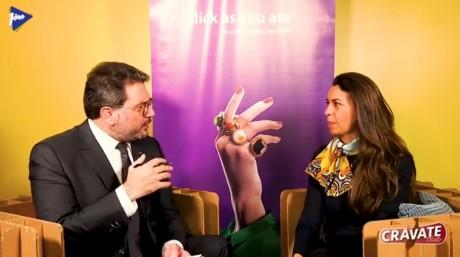 Cravate Club Relations écoles entreprises avec Nada Biaz, DG du Groupe ISCAE