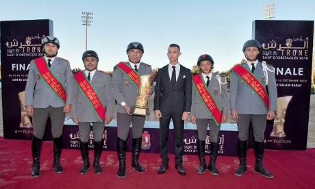 S.A.R. le Prince Héritier Moulay El Hassan préside à Rabat la finale de la 6è édition de la Coupe du Trône des clubs de saut d'obstacles