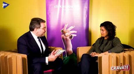 Cravate Club Inclusion des travailleurs handicapés avec Khaoula Hajarabi