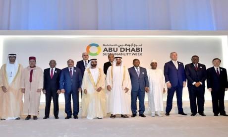 S.A.R. le Prince Moulay Rachid représente S.M. le Roi à la «Semaine de la durabilité d'Abou Dhabi»
