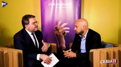 Cravate Club Intelligence Artificielle avec Hicham Benbella