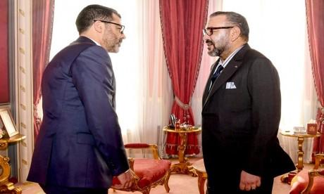 """S.M. le Roi reçoit le nouveau directeur général du Fonds """"Ithmar Capital"""""""