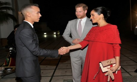 S.A.R. le Prince Héritier Moulay El Hassan reçoit à Rabat le Prince Harry d'Angleterre et son épouse