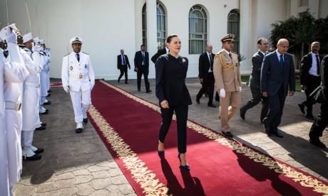 """Video : S.A.R. la Princesse Lalla Hasnaa préside à Témara la cérémonie d'inauguration du Centre de santé urbain """"Massira II"""" après sa rénovation"""