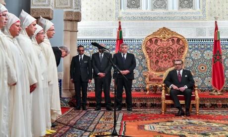 Video : S.M. le Roi reçoit les nouveaux walis et gouverneurs au niveau des administrations territoriale et centrale