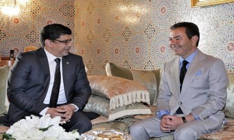 Sur ordre de S.M. le Roi, S.A.R. le Prince Moulay Rachid reçoit un émissaire du président mauritanien, porteur d'un message au Souverain