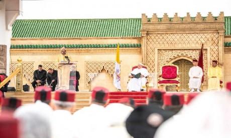 Discours de S.M. le Roi à l'occasion de la visite de Sa Sainteté le Pape François au Maroc