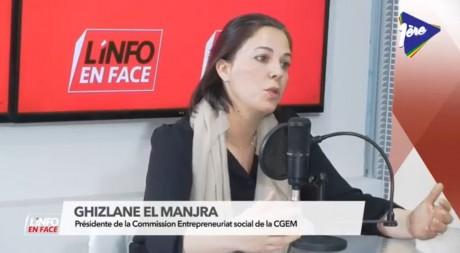 Ghizlane El Manjra, présidente de la Commission Entrepreneuriat social de la CGEM