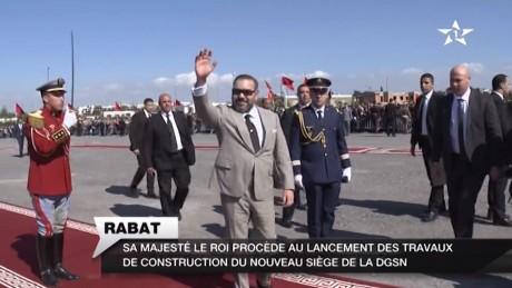 Video : S.M. le Roi lance à Rabat les travaux de construction du nouveau siège de la DGSN