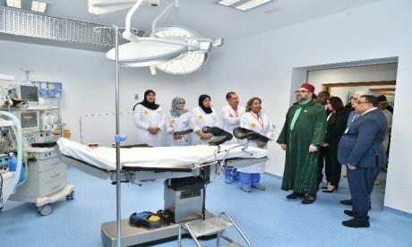 Video : S.M. le Roi inaugure à l'arrondissement Sidi Moumen un Centre médical de proximité - Fondation Mohammed V pour la solidarité