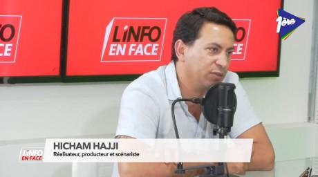Hicham Hajji, réalisateur, producteur et scénariste, invité de l'Info en Face