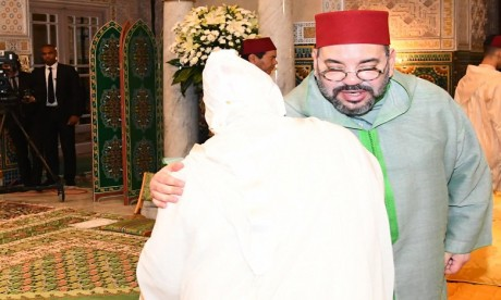S.M. le Roi préside à Casablanca la cinquième causerie religieuse du mois de Ramadan