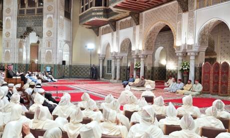 Video : S.M. le Roi, Amir Al-Mouminine, préside la quatrième causerie religieuse du mois sacré du Ramadan
