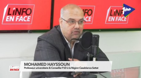 Mohamed Hayssoun, invité de L'Info en Face