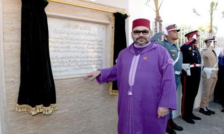 S.M. le Roi inaugure un Centre d'addictologie à Benslimane
