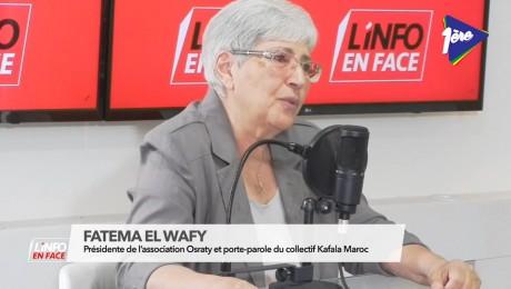Fatema El Wafy, invitée de L'Info en Face