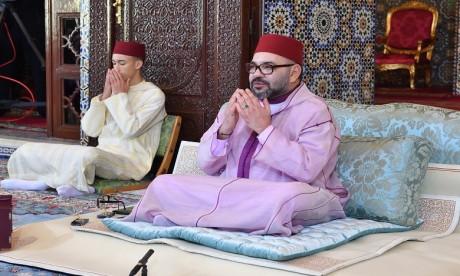 S.M. le Roi, Amir Al Mouminine, préside à Rabat la septième causerie religieuse du mois de Ramadan