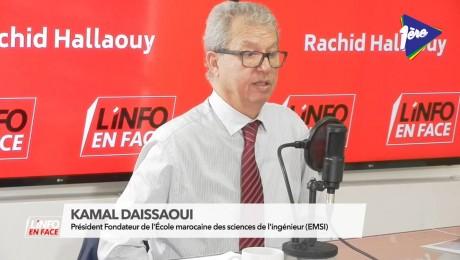 Kamal Daissaoui invité de L'Info en Face