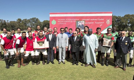 Video : S.A.R. le Prince Moulay Rachid préside à Rabat la finale de la troisième édition du Trophée international Mohammed VI de Polo