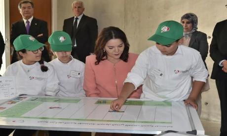 Video : S.A.R la Princesse Lalla Hasnaa préside à Bouknadel la cérémonie d'inauguration du Centre international Hassan II de formation à l'environnement