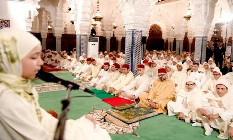 S.M. le Roi préside à Rabat une veillée religieuse en commémoration de Laylat Al-Qadr bénie