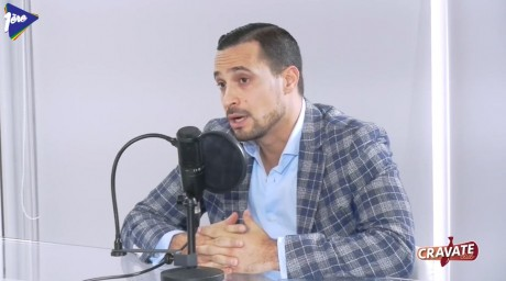 Cravate Club Think tanks et entreprises avec Hatim Benjelloun, Radius