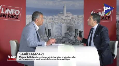 L'Info en Face avec Saaïd Amzazi