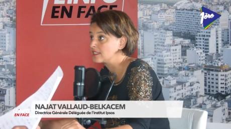 L'info en Face : Pour Najat Vallaud-Belkacem la dépense éducative est la plus importante